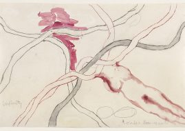 Louise Bourgeois - Untitled, from the installation, À l'infini. 2008