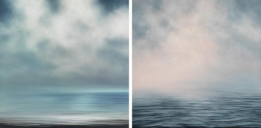 Louise LeBourgeois - Approaching Light #529, 2015 - Summer Burst #543, 2015