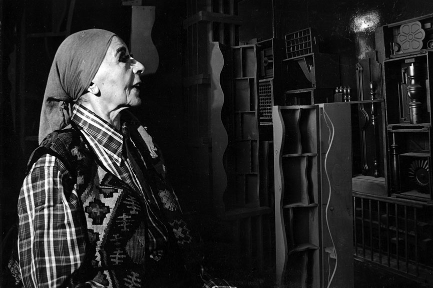 Louise Nevelson was one of the most important assemblage artists