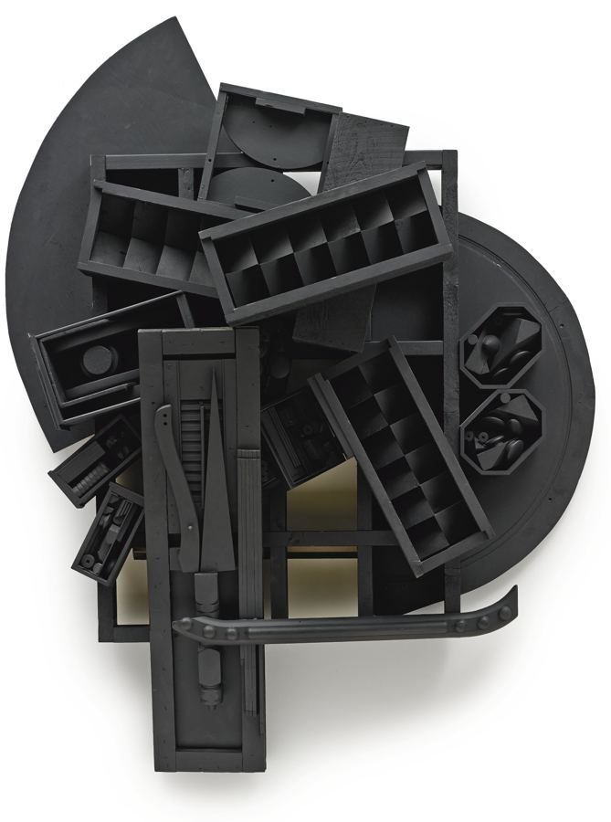 Louise Nevelson-Mirror Shadow XI-1985