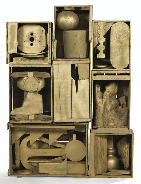 Louise Nevelson-Untitled-1961