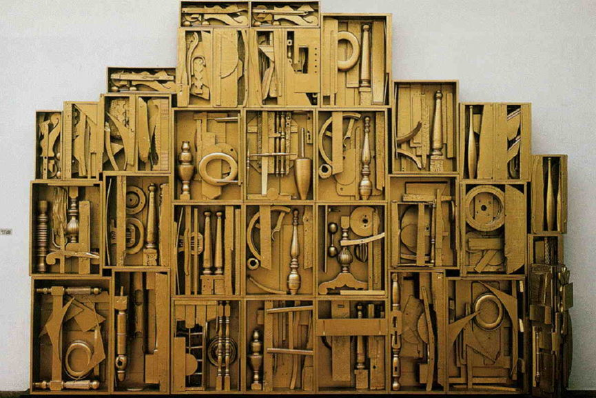 Louise Nevelson - Untitled. Image via pintrest.com