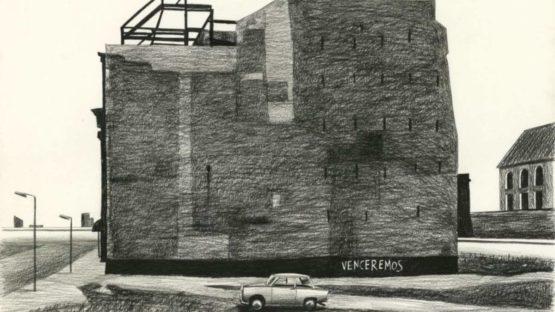 Loustal - Studio Hansa by the Wall, 1977, 2019 (detail)