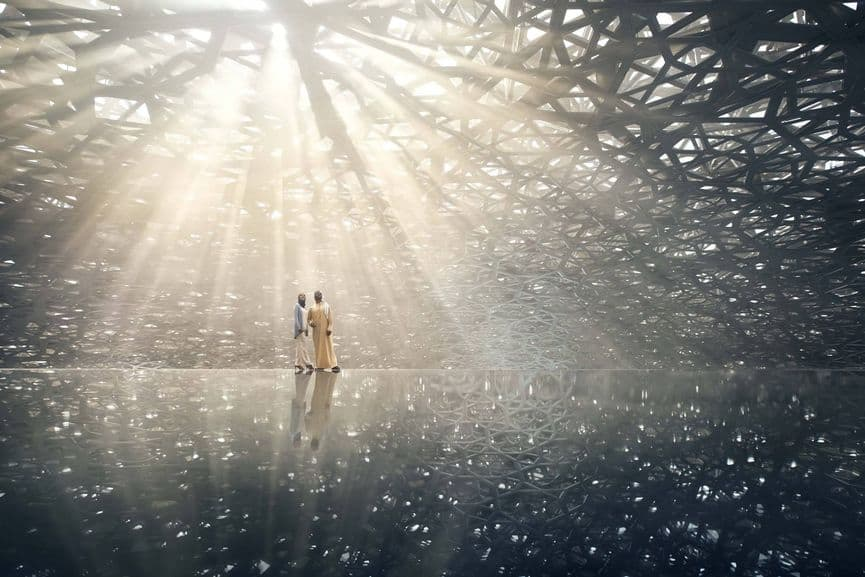 Louvre Abu Dhabi, best new museum with new exhibitions in 2018