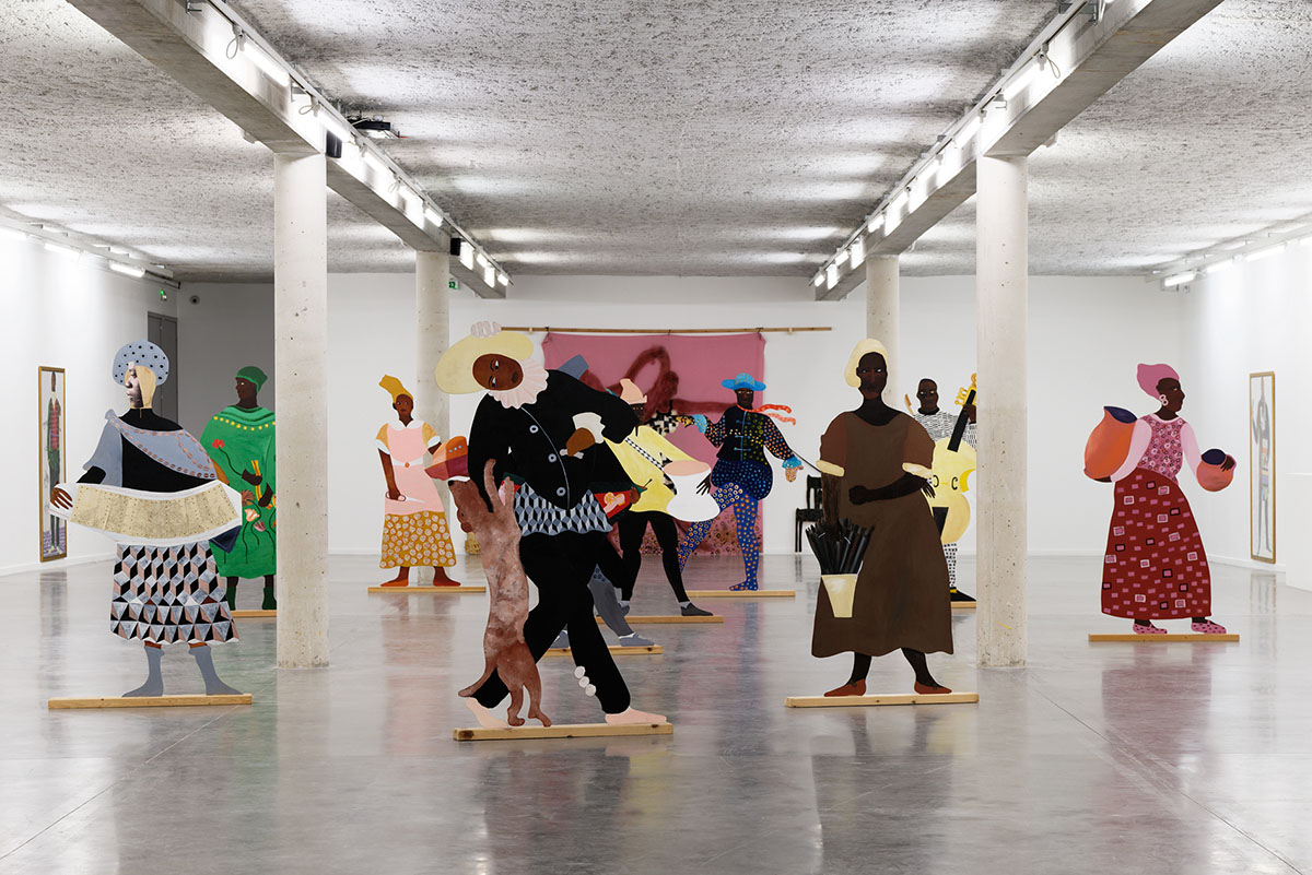 Lubaina Himid, Gifts to Kings, view of the exhibition at MRAC, Serignan, 2018