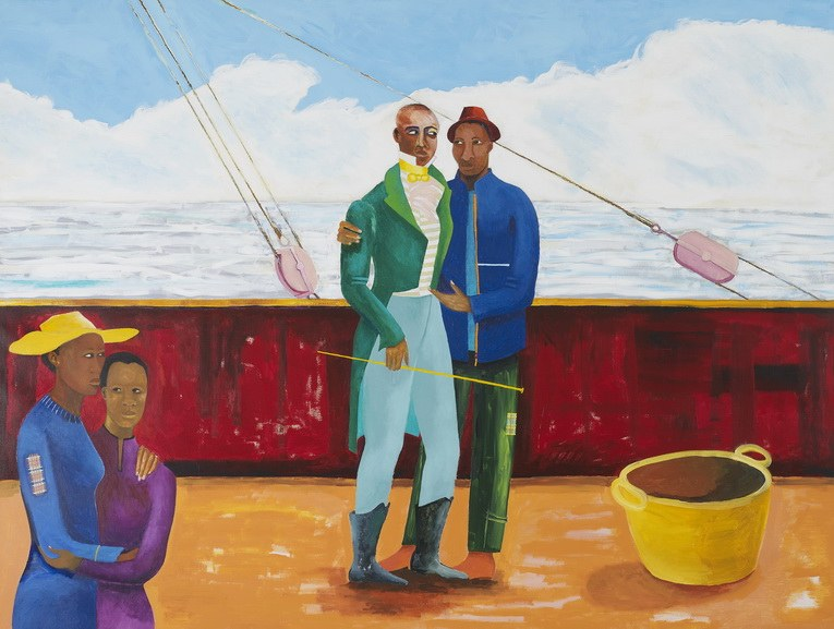 Lubaina Himid - The Captain and The Mate