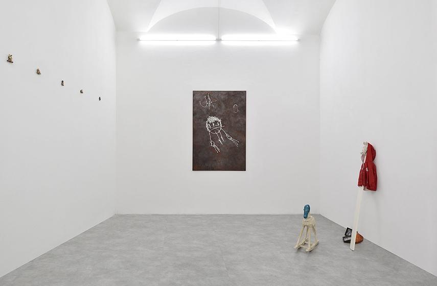 Luca De Leva - Fiammetta dixit, 2014, photo credits Roberto Apa