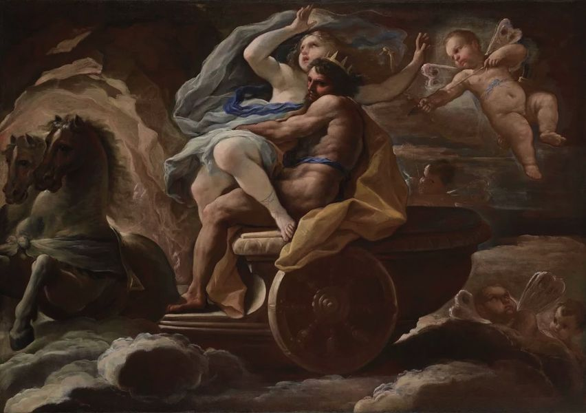 Luca Giordano - The Abduction of Proserpina