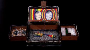 Lucas Samaras - Box #10, 1963