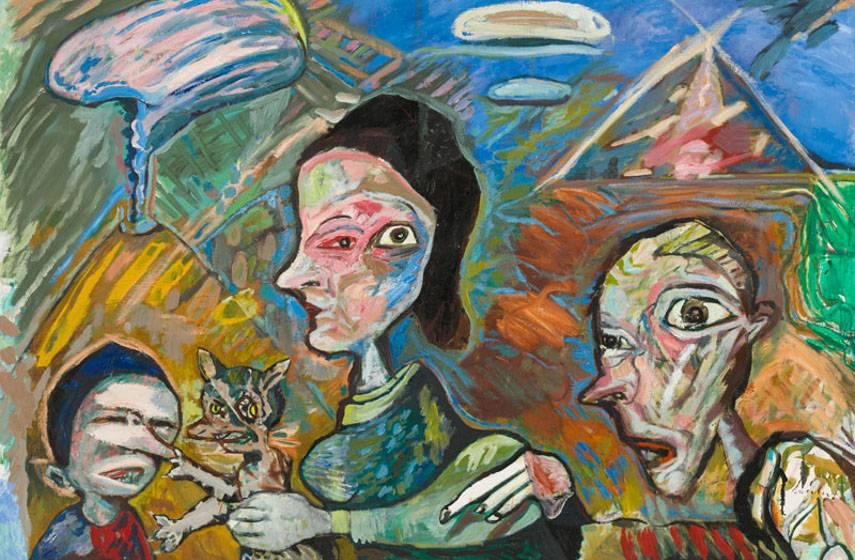 Lucebert - Het Geschenk, 1986, photo credits GaleriesNL