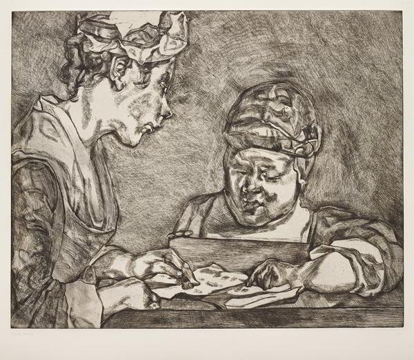 Lucian Freud-After Chardin-2000
