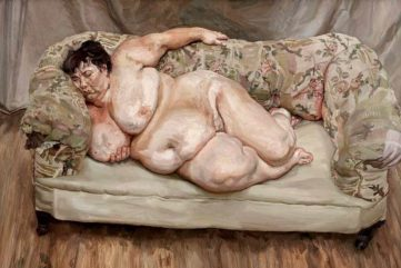 Why Lucian Freud's Nude Portraits Are Monumental In Every Way