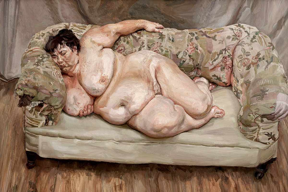 Lucian Freud - Benefits Supervisor Sleeping