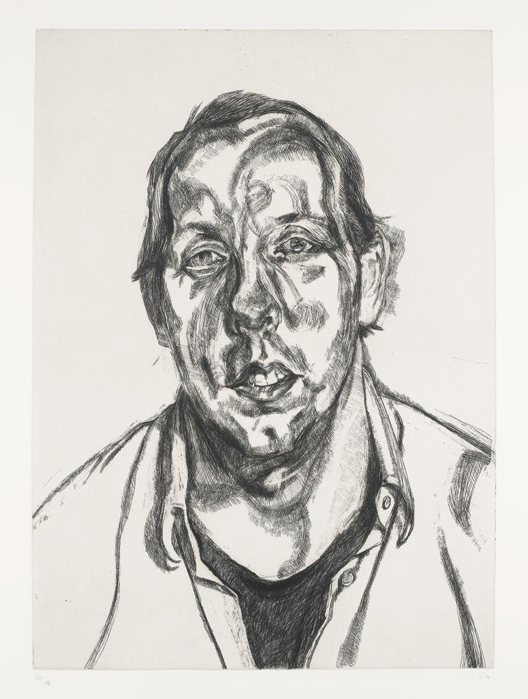 Lucian Freud-David Dawson-1998