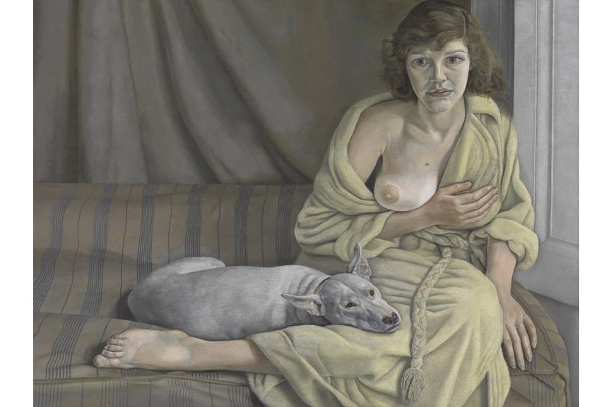 Lucian Freud - Girl with a White Dog 1950–1; a treat for the art world in 2018