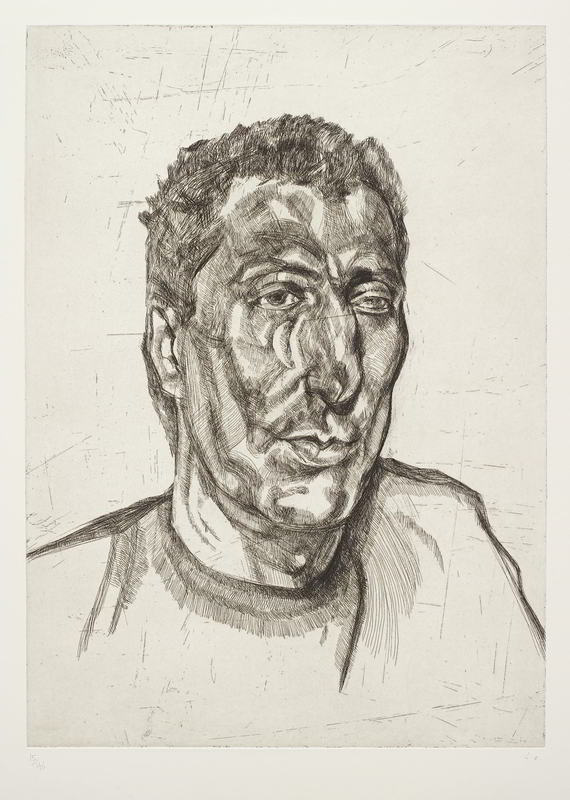 Lucian Freud-Head of Ali-1999