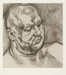 Lucian Freud-Head of a Man-1992