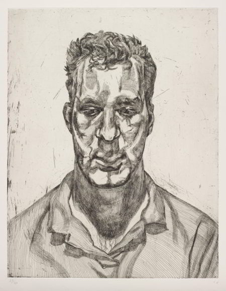 Lucian Freud-Kai-1992