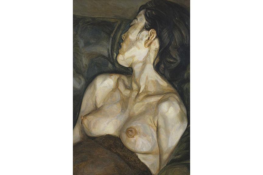 Lucian Freud - Pregnant Girl, 1960-61