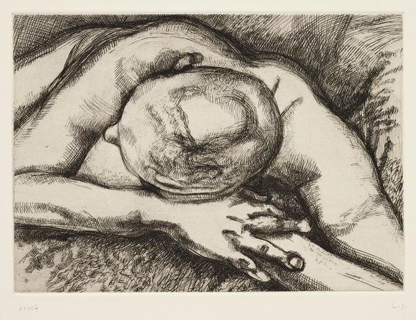 Lucian Freud-Reclining Figure-1994