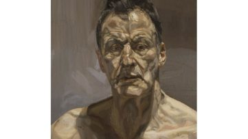 Lucian Freud - Self-portrait