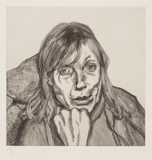 Lucian Freud-Susanna-1996