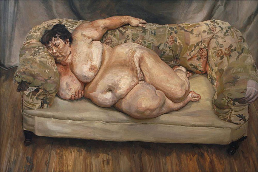 Lucian Freud was one of the most famous British painters