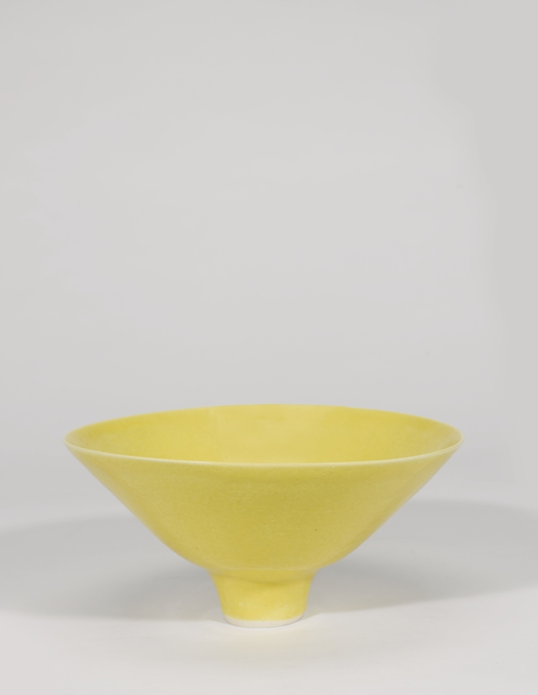 Lucie Rie-Footed Bowl-1970