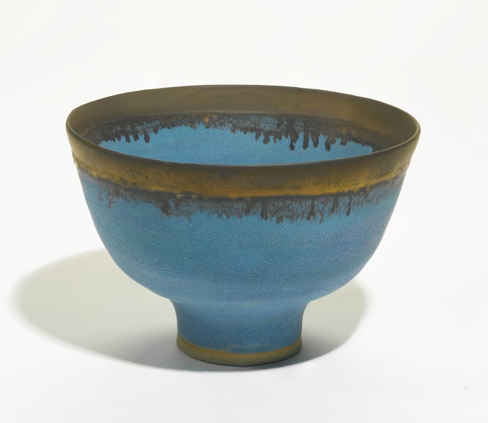 Lucie Rie-Footed Bowl-1980
