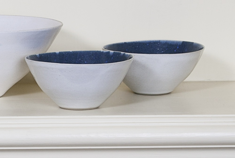 Lucie Rie-Two Small Bowls-