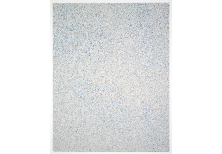 Sprinkled painting