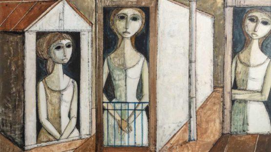 Lucio Ranucci - Three Women, 1971 (detail)