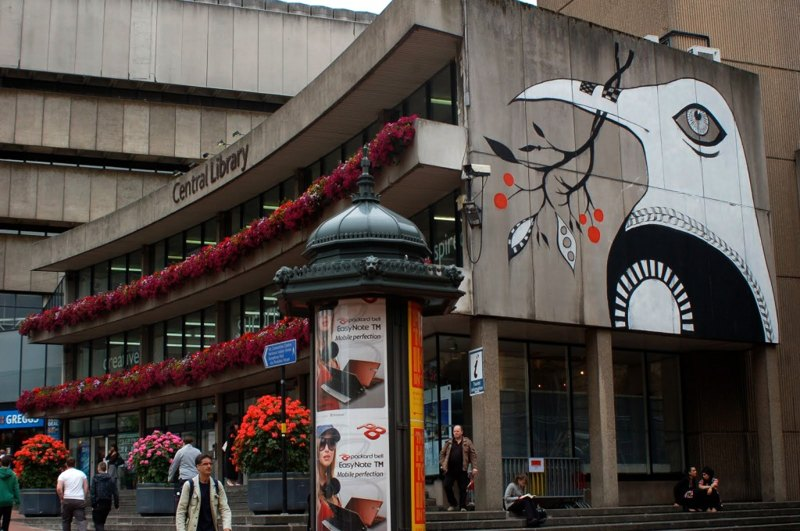 Lucy McLauchlan - Anything is Possible on Birmingham Central Library, 2010