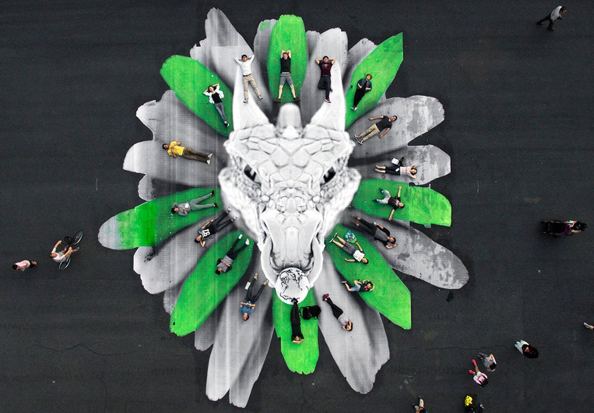 Ludo - Dragon, Shanghai, 2016 - Image courtesy of the artist