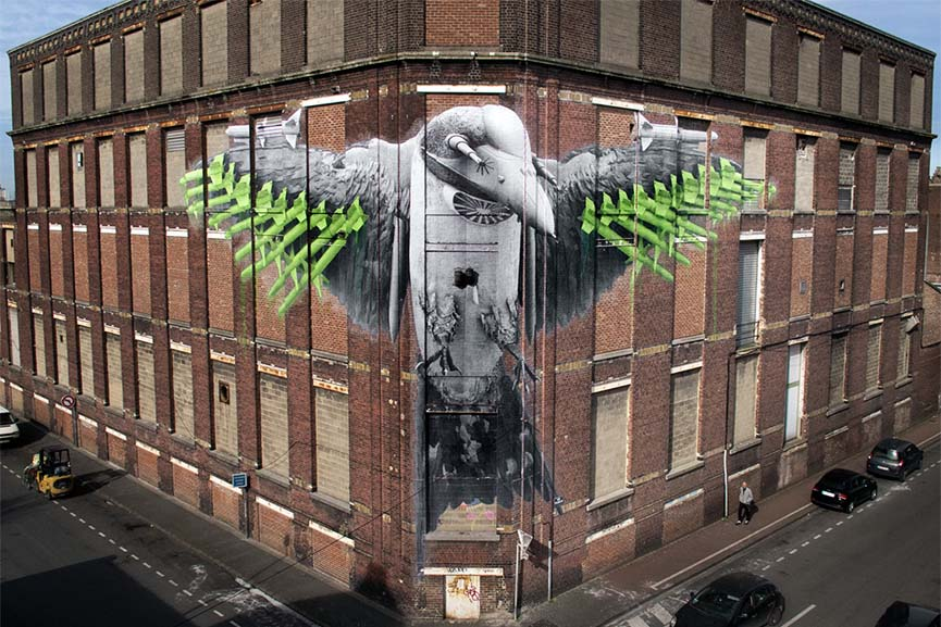 Ludo's new mural in France