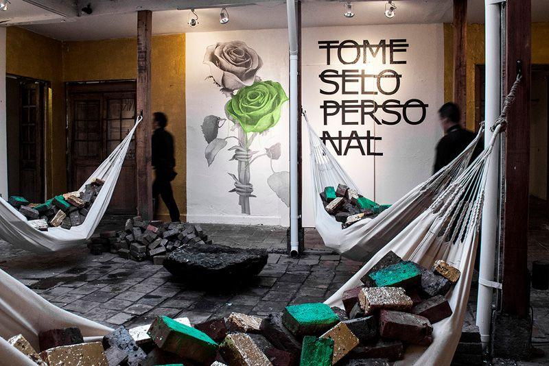 Ludo x Rero - ArtBo Artfair mural - Bogota, Colombia, 2015 - 3