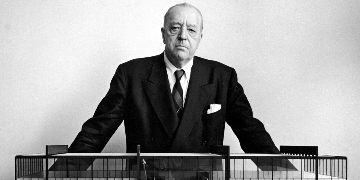 biography of ludwig mies van der rohe widewalls. Black Bedroom Furniture Sets. Home Design Ideas
