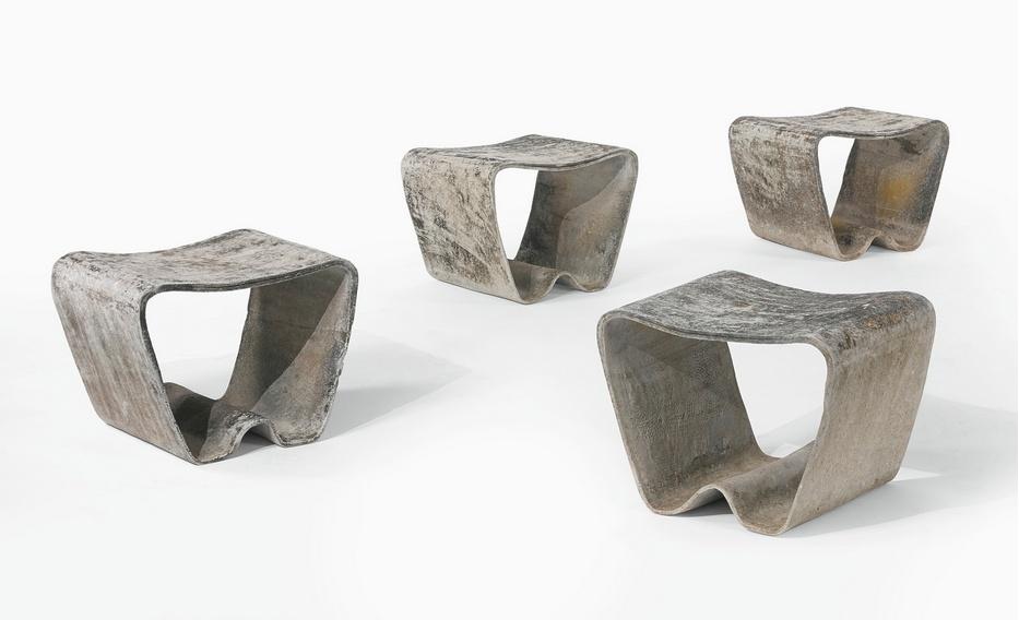Ludwig Walser - Four Garden Seats-1960