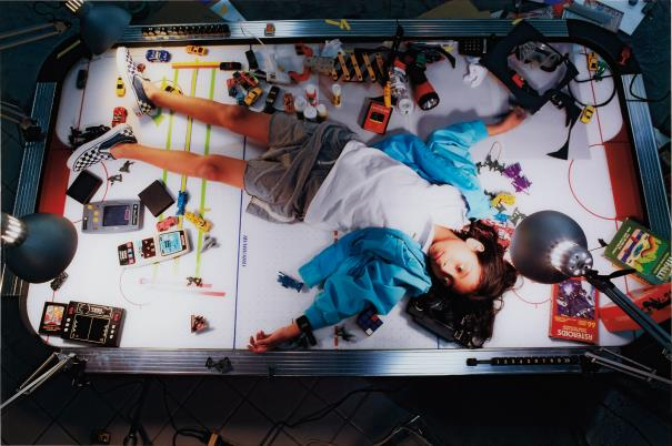 Luis Gispert-Photograph from Smother (Air Hockey)-2007