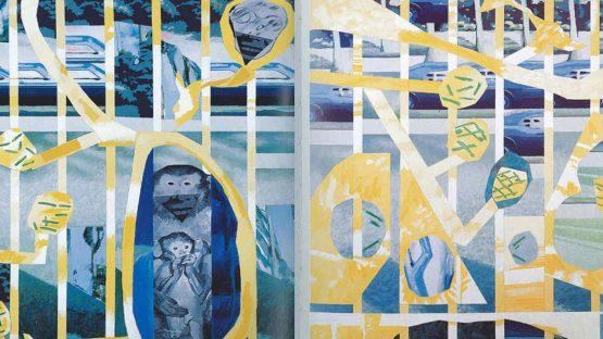 Luis Gordillo - Los chinos (detail), 1979