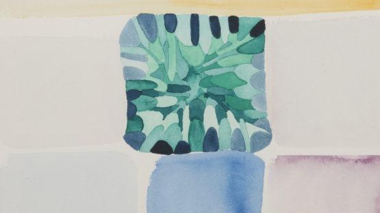 Luisa Correia Pereira - Divers chemins avec une forêt au centre (detail), 1970, EDP Foundation Art Collection - photo credits MAAT