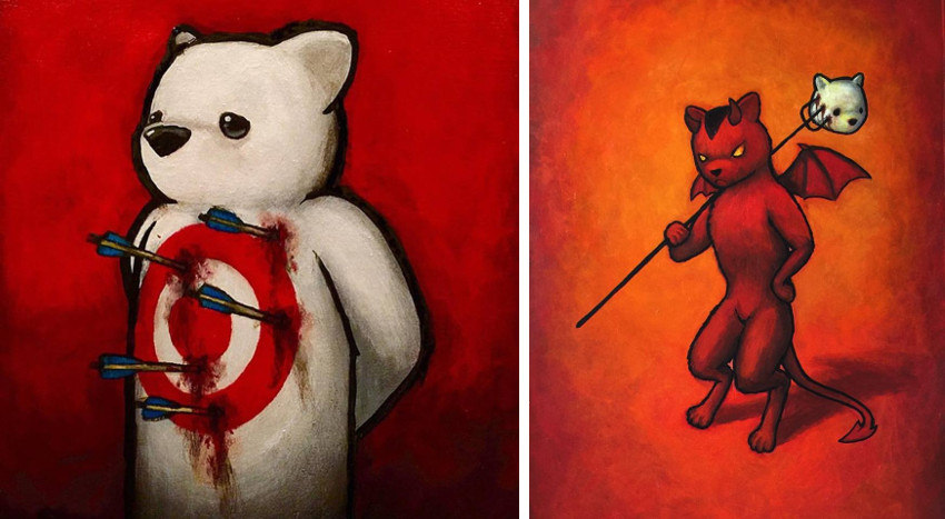 Luke Chueh - Target - The Devil, print and prints