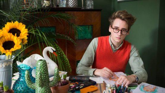 Luke Edward Hall - Photo of the artist - Image via vogue