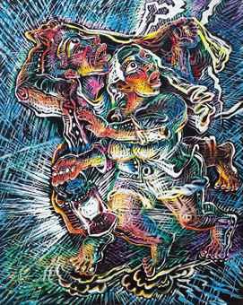 Luo Zhongli-Thunder Shower-2005