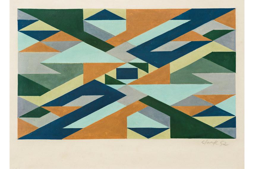 Lygia Clark - Planos em superficie modulada 1952