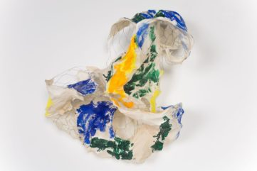 Bending Wire and Folding Paper - Lynda Benglis at The Locks Gallery