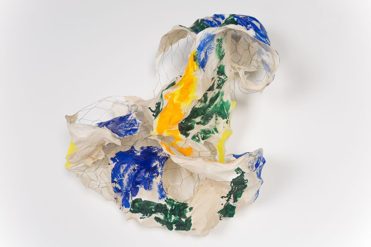 Bending Wire and Folding Paper – Lynda Benglis at The Locks Gallery ...
