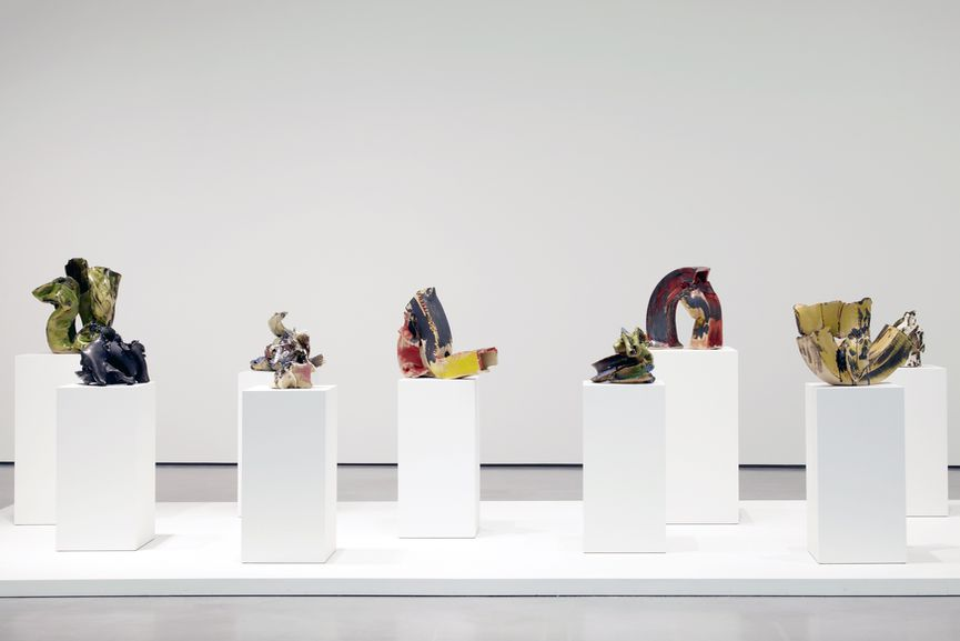 Lynda Benglis, Installation View at the Hepworth Wakefield, via cfileonline org 1