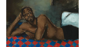 Lynette Yiadom-Boakye - Tie The Temptress To The Trojan