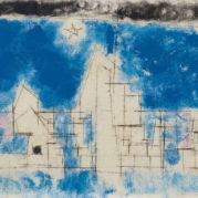 Lyonel Feininger - B-B Town, 1946 (detail)
